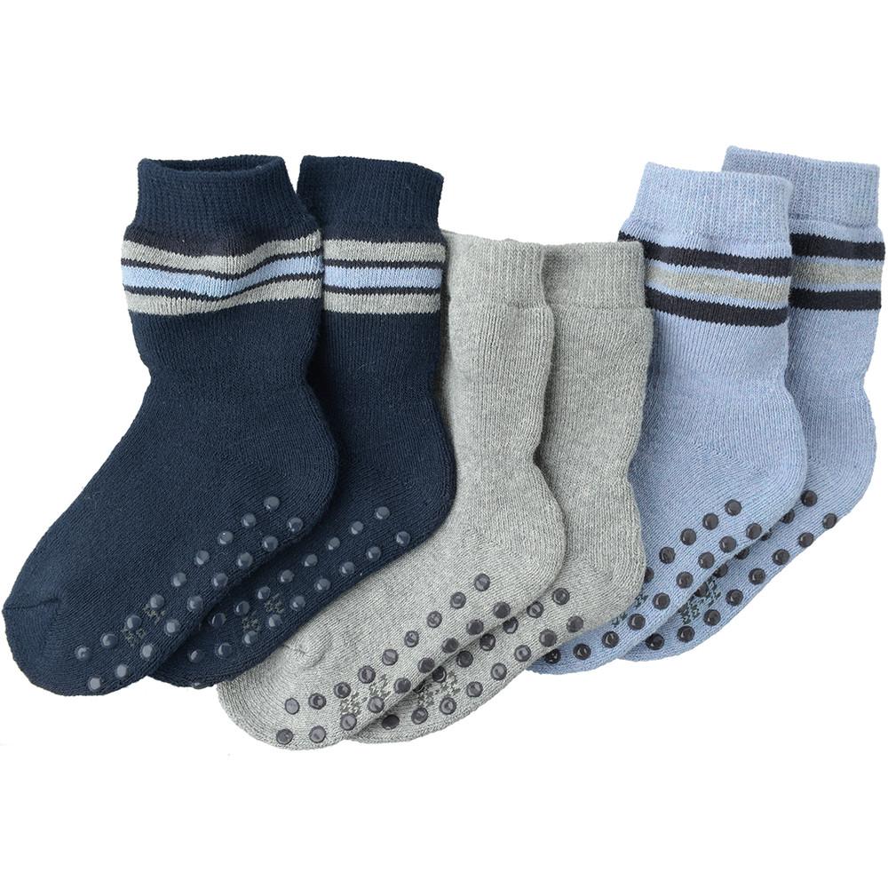 3 Paar Baby Frottee Socken
