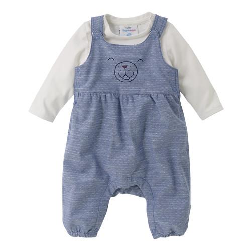 Newborn-Latzhose mit Langarmshirt Sale Angebote Groß Oßnig