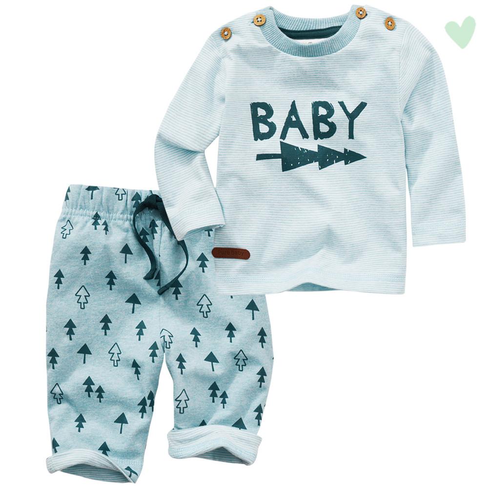 Newborn Langarmshirt und Jogginghose