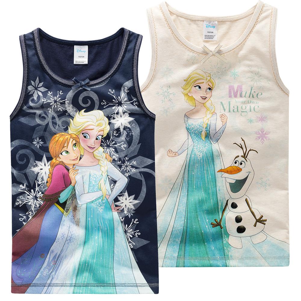 2 Die Eiskönigin Unterhemden