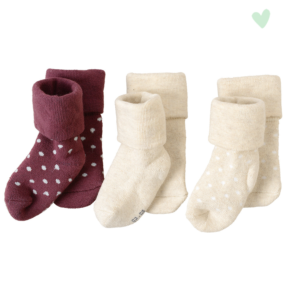 3 Paar Newborn Socken