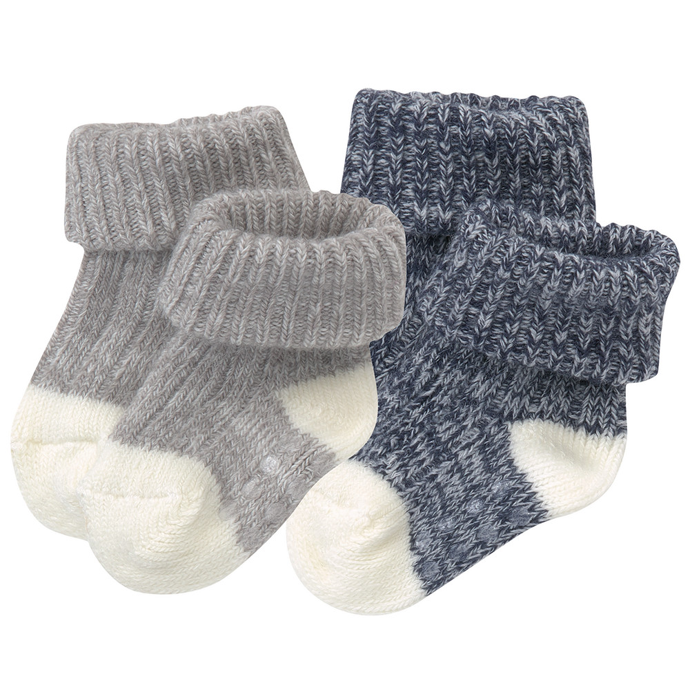 2 Paar Newborn Socken
