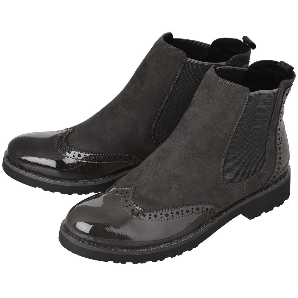 Damen-Chelsea-Boots - broschei