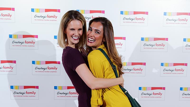 Model-Freundinnen: Monica Ivancan und Jana Ina Zarrella