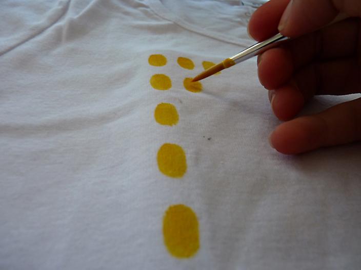 Ananas-Shirt Punkte