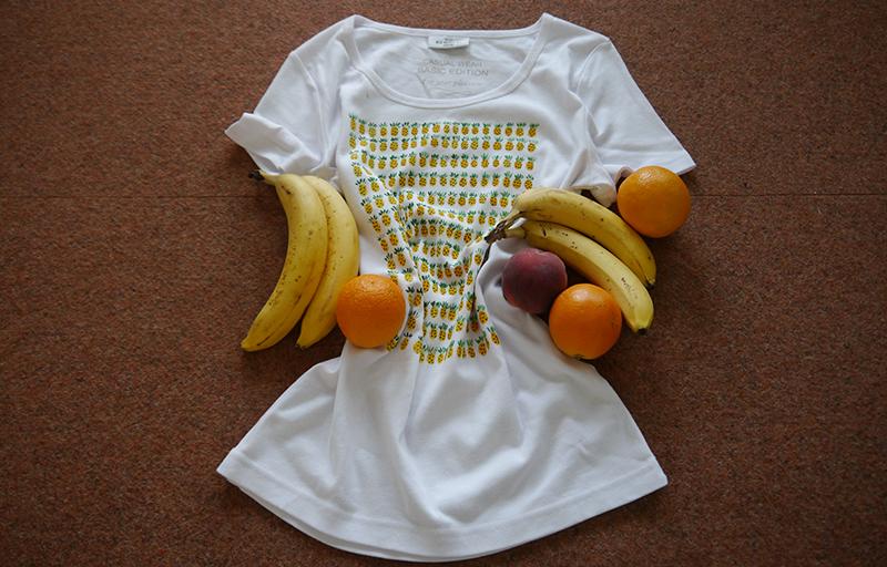 Ananas-Shirt