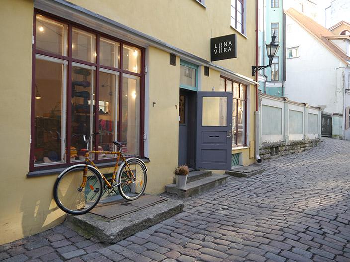Boutique in der Altstadt von Tallinn