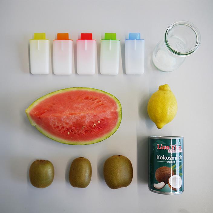 Eis selber machen, vegan, Wasser Eis selber machen, Melonen Eis, Fruchteis, Wassermelone, Eis machen, DIY Eis, gesundes Eis, Basteln mit Kindern