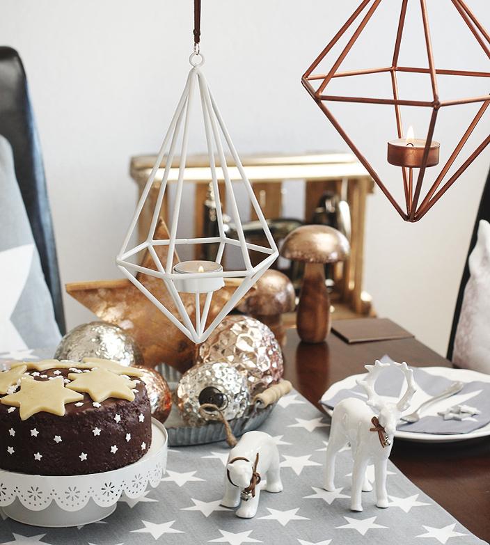 Rezept Lebkuchen, Anleitung Lebkuchen, Lebkuchen backen, Lebkuchen verzieren, Lebkuchen mit Marzipanstern, Backen für Weihnachten, Weihnachten