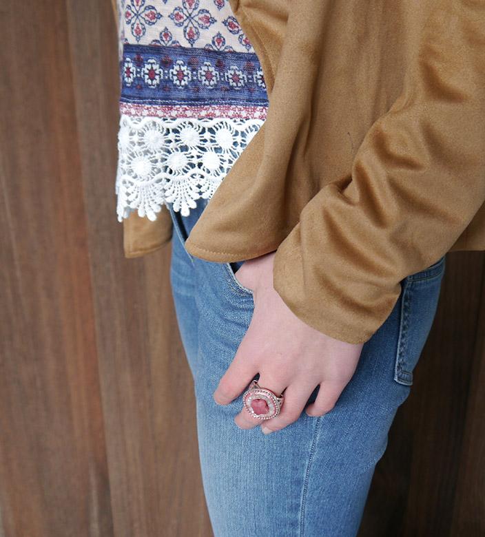 Lasst_euch_inspirieren – Der_ Bohemian_Style_Paisleyshirt und Jacke_Detail