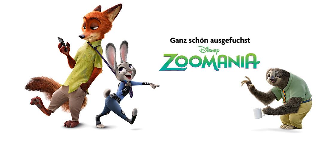 Passend zum Start von Disney's Zoomania verlosen wir 20 Kinotickets. Die süßen Helden aus dem Film finden sich ab sofort auch auf ausgewählten Artikel unserer Kinderkleidung.