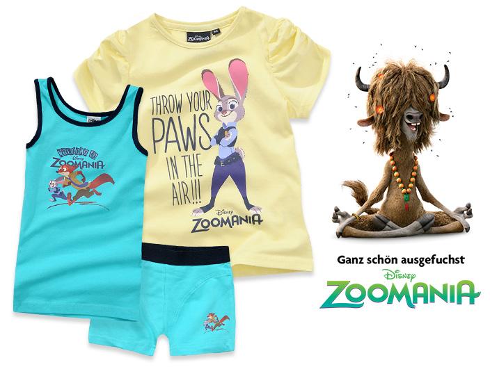 Pasend zum Start von Disney's Zoomania verlosen wir 20 Kinotickets. Die süßen Helden aus dem Film finden sich ab sofort auch auf ausgewählten Artikel unserer Kinderkleidung.