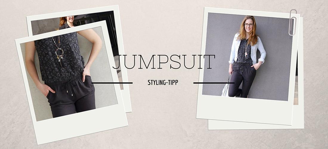Jumpsuit kombinieren, Jumpsuit stylen, Jumpsuit, Jumpsuit schwarz, 3 Looks, nachstylen