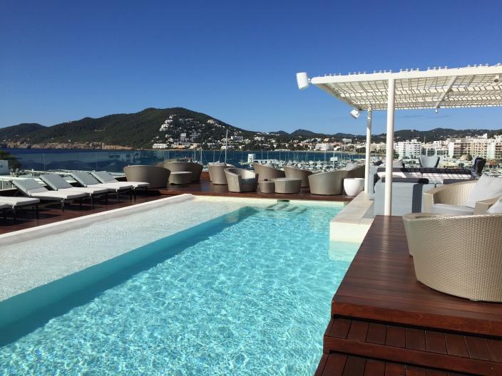 Blogger Event auf Ibiza, #ef_ibiza,Ibiza, Dachterasse, Dachpool, Santa Eularia