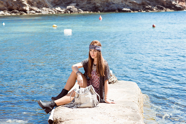 Diana König, gemusterter Jumpsuit, Jumpsuit, Ibiza, Ernsting's family