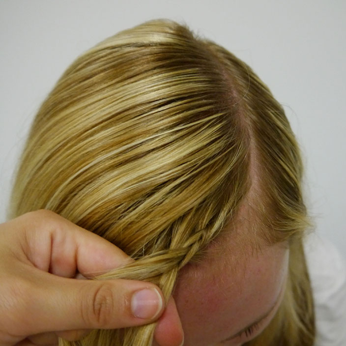 Einfache Frisuren 1 Flechtfrisur