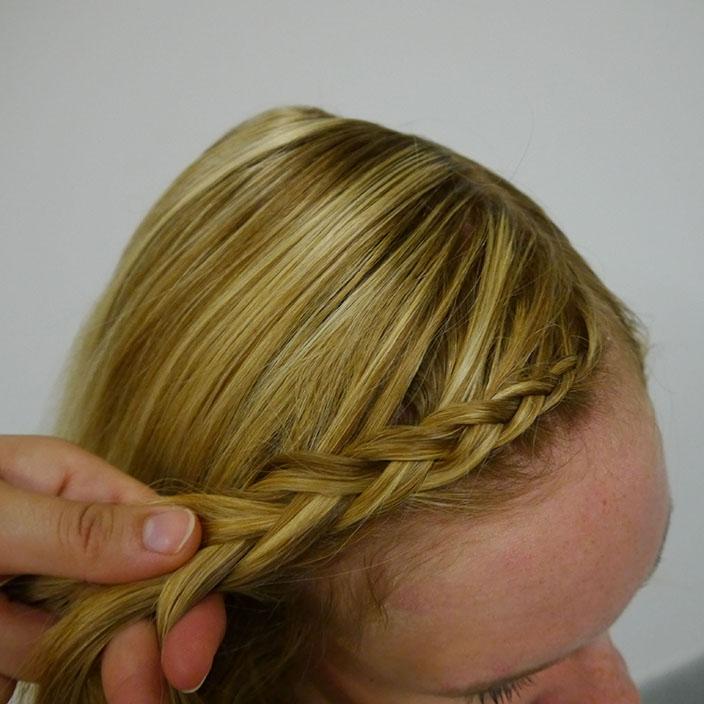 Einfache Frisuren 2 Flechtfrisur