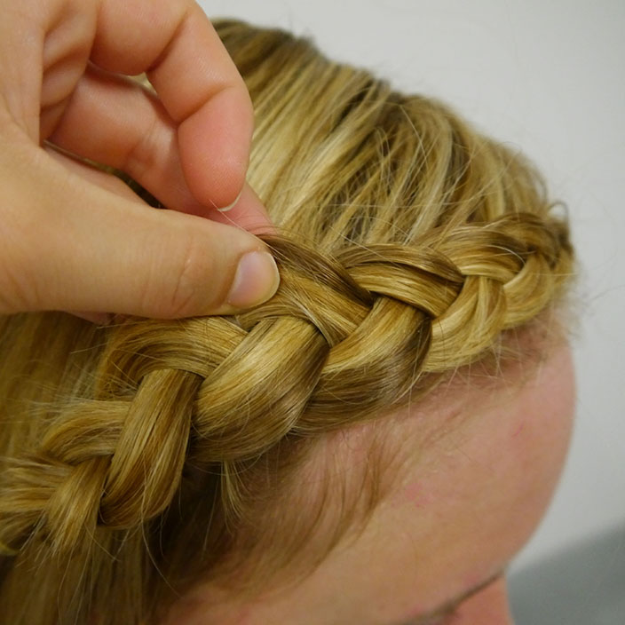 Einfache Frisuren 4 Flechtfrisur