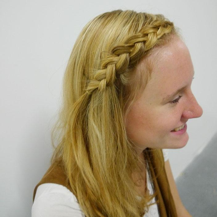 Einfache Frisuren 6 Flechtfrisur