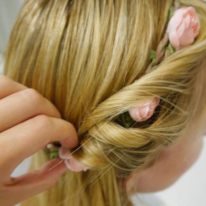 Einfache Frisuren 3 Hippie Frisur