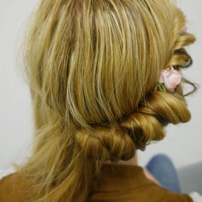 Einfache Frisuren 5 Hippie Frisur