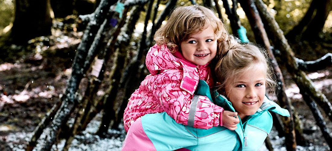Schneebekleidung für Kinder