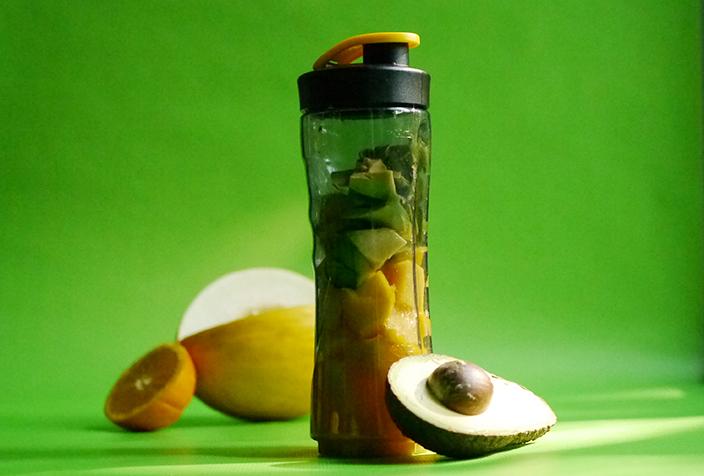 einfache Smoothie-Rezepte, Smoothie to go, AEG Mixer, Smoothie, Smoothies, Rezept, Avocado-Smoothie, Avocado, Honigmelone