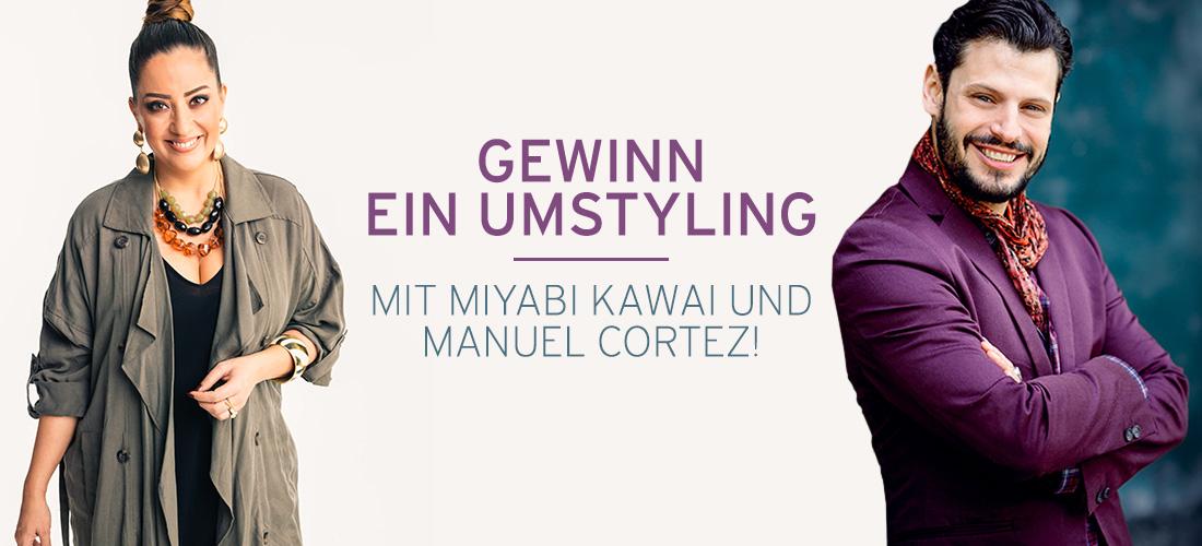 Umstyling iyabi Kawai und Manuel Cortez