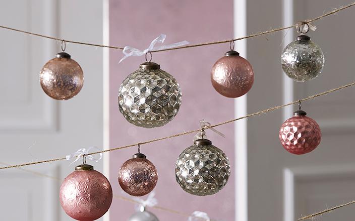 Das sind unsere weihnachtstrends 2016 - Weihnachtskugeln pastell ...