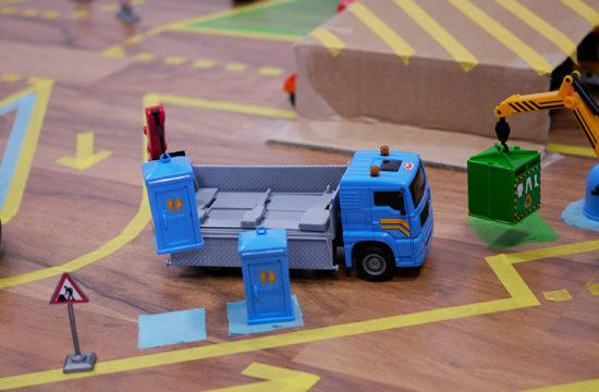 Washi Tape basteln, Washi Tape, Masking Tape, Spielteppich, Spielboden, Spiellandschaft
