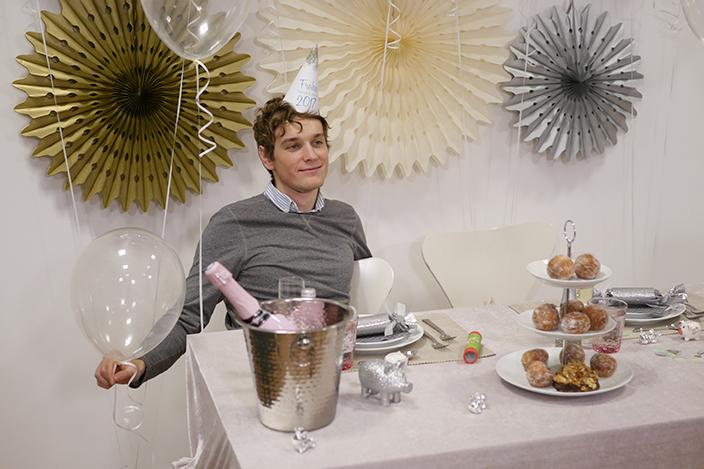 Partyhut, Partyhut für Silvester, Silvester 2016, Silvesterparty
