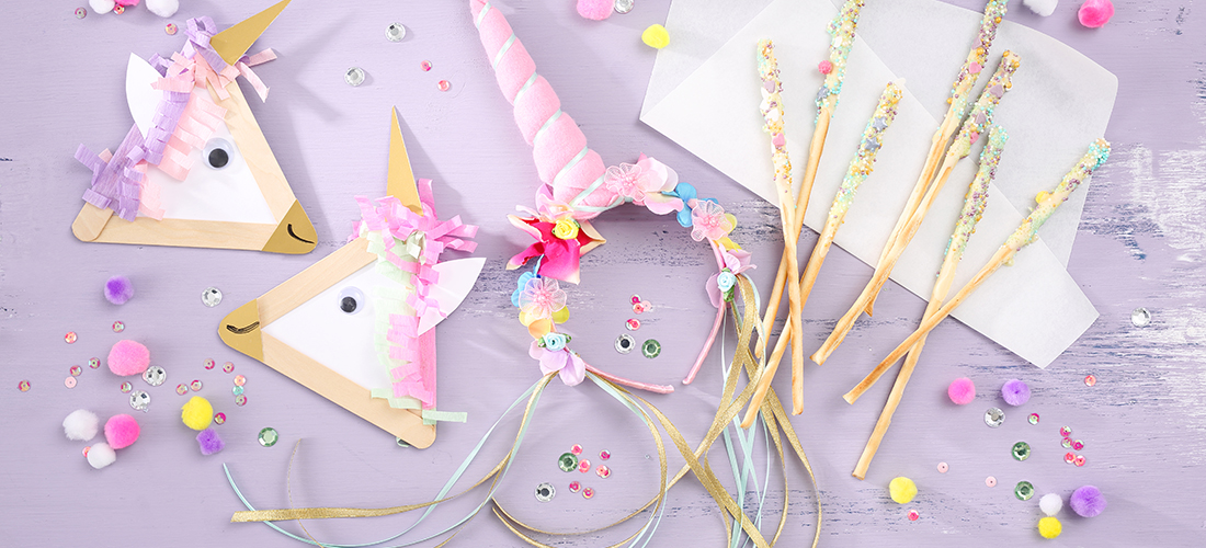 Tipps und Ideen: Wir feiern einen Einhorn-Geburtstag!