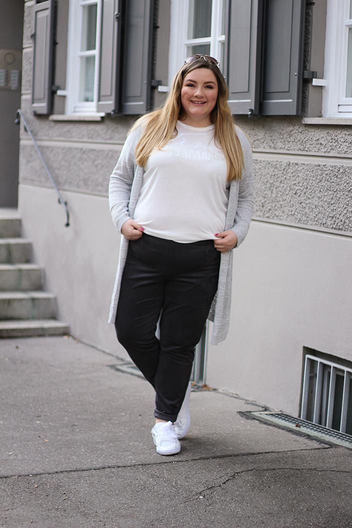 Blusenoutfits, Plus Size, Blusen kombinieren, Theodora Flipper