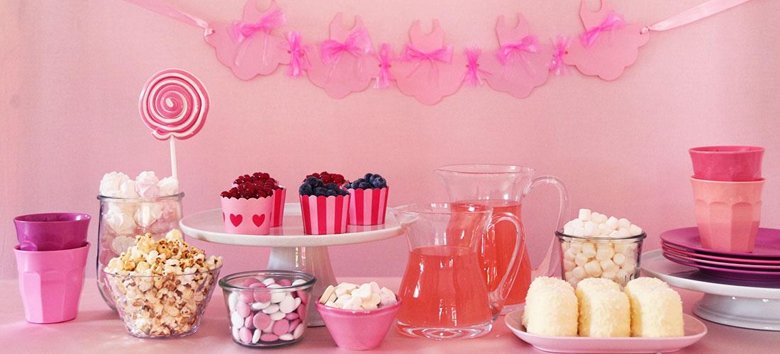 Ballerina, Ballett, Ballettgeburtstag, Balletttänzerin, Girlande basteln, Upcycling, Candy Bar, rosa Candy Bar