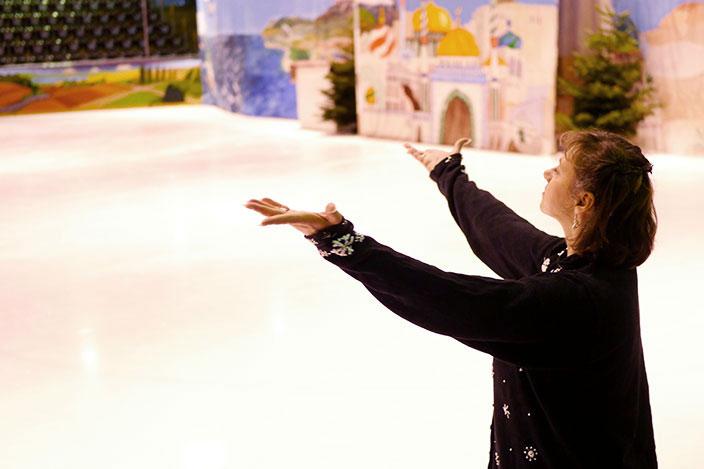 Marina Kielmann, Holiday on Ice, Eislaufstipendium, Ernsting's family, Gewinnspiel, Eislauf-Star
