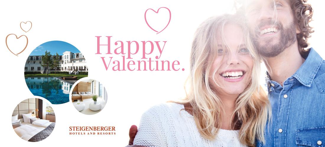 Valentinstag, Ernsting's family, Steigenberger Hotel, Gewinnspiel