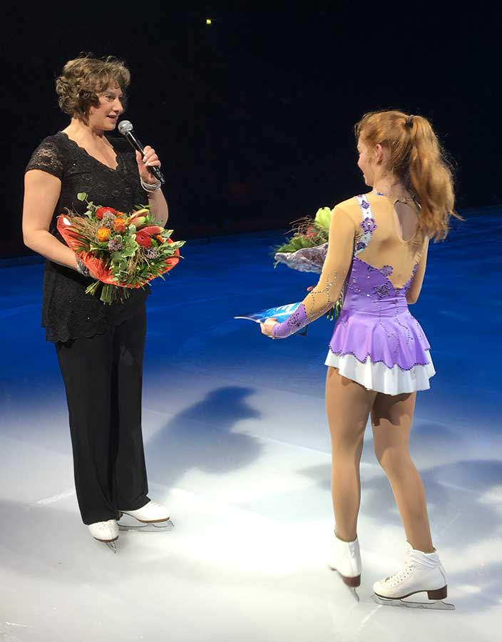 Holiday on Ice, Marina Kielmann, Lara Messinger