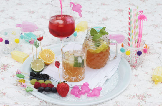 Cocktail-Rezept, Mocktail, Cocktail ohne Alkohol, Apfel-Ingwer-Limonade, Limonade selber machen, Aperol Royal, Ipanema