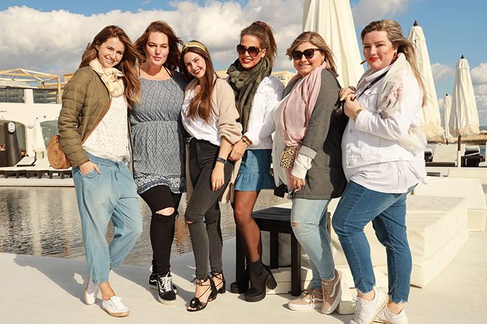 Blogger-Event, Ernsting's family, Theodora Flipper, Diana König, Ooobacht, Petra Mayer, Kim Umlauf, Blogger, Bloggerin, Plus Size, Elabonbonella, Elisabeth Januszek, Mallorca, Sommerkollektion