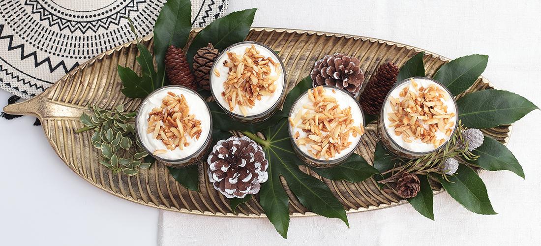 Dessert, Weihnachtsdessert, Tiramisu, Bratapfel, Nachtisch, Weihnachtsrezept