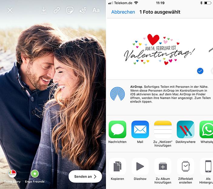 Instagram, Sticker, Valentinstag, gratis Download, kostenlose Sticker Instagram, Insta-Story, kostenlose Sticker für die Story