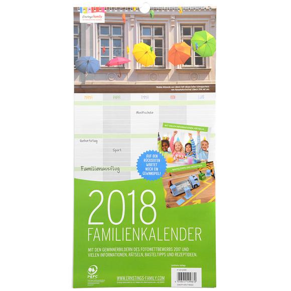 familienkalender 2018 mit fotos ernsting 39 s family. Black Bedroom Furniture Sets. Home Design Ideas