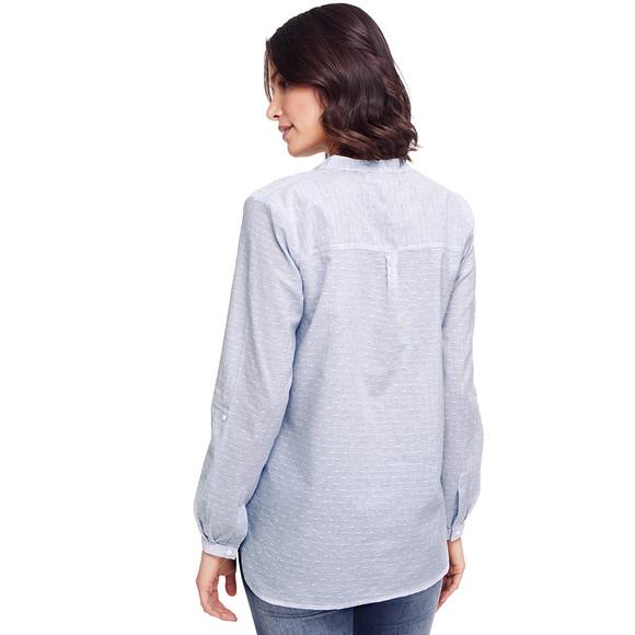 damen bluse mit blumen stickerei ernsting 39 s family. Black Bedroom Furniture Sets. Home Design Ideas