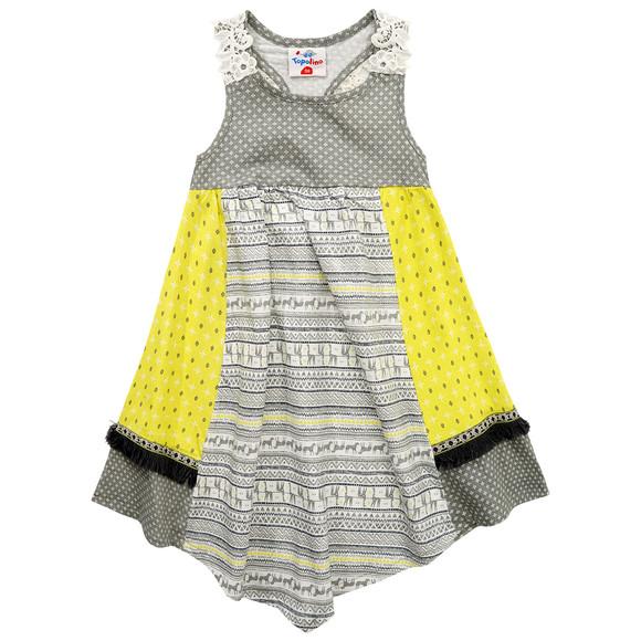 Mädchen Kleid mit Fransen | Ernsting\'s family