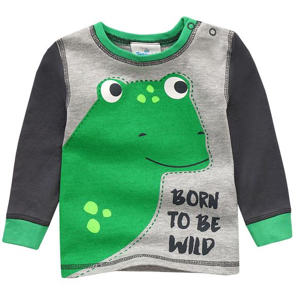 baby schlafanzug mit dinosaurier motiv ernsting 39 s family. Black Bedroom Furniture Sets. Home Design Ideas