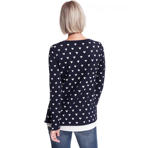 Damen Umstands Sweatshirt im Layer Look   Ernsting's family