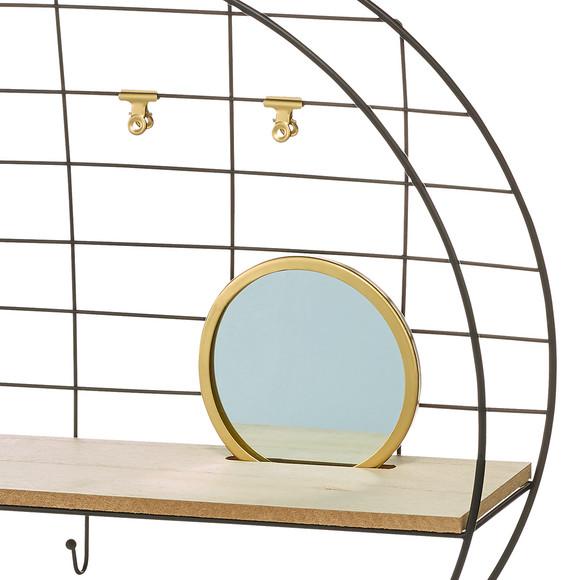 wandregal mit spiegel 44 5 cm ernsting 39 s family. Black Bedroom Furniture Sets. Home Design Ideas