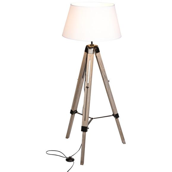 stehlampe mit drei holzbeinen ernsting 39 s family. Black Bedroom Furniture Sets. Home Design Ideas