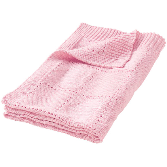 Baby Strickdecke mit Jacquard-Muster | Ernsting\'s family