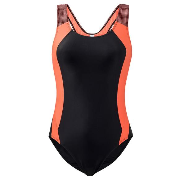 Rabatt bis zu 60% Original- Werksverkauf Damen Sport-Badeanzug mit Kontrasteinsätzen | Ernsting's family